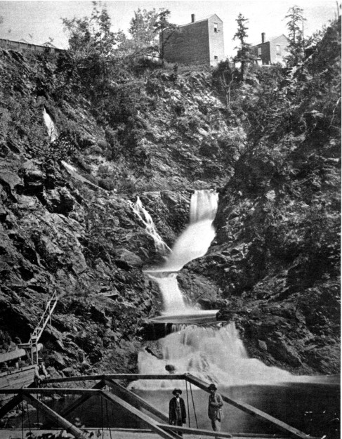 Mount Ida Falls at Poestenkill Gorge, photo from the collection of Thomas Flynn